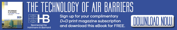 Durability + Design eBook: The Technology of Air Barriers