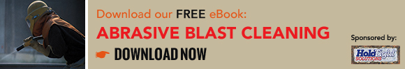 Download our free ebook on Abrasive Blast Cleaning