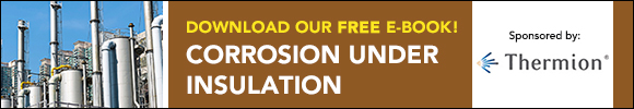 Download our free e-book! Corrosion Under Insulation. Sponsored by Thermion.