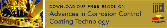 Download our free ebook on Advances in Corrosion Control Coating Technology
