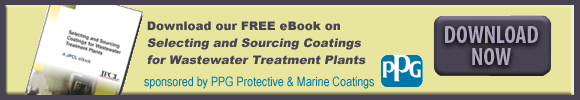 Selecting and Sourcing Coatings for Wastewater Treatment Plants