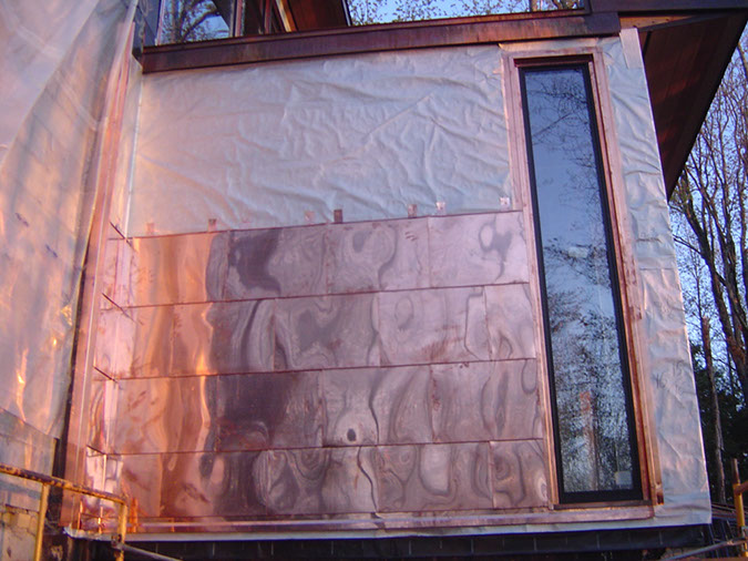 Exterior metal cladding durability design project photo gallery - Painting exterior metal collection ...