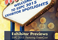 SSPC 2015 Exhibitor Spotlights