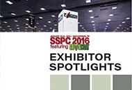 SSPC 2016 Exhibitor Spotlights