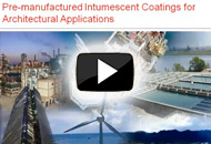 Pre-manufactured Intumescent Castings for Architectural Applications