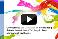 Overcoming the Obstacles in Formulating Solvent-Based Low VOC Acrylic Two-Component Urethanes