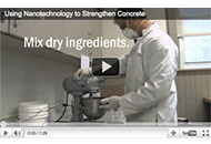 Nanosilica Used to Strengthen Concrete