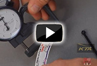 How to Measure Surface Profile Depth -- Testex Press-O-Film Replica Tape