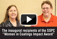 Inaugural SSPC Women in Coatings Impact Awardees
