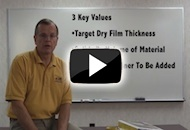 Calculating Wet Film Thickness or WFT